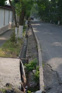 Sidewalk in Tashkent