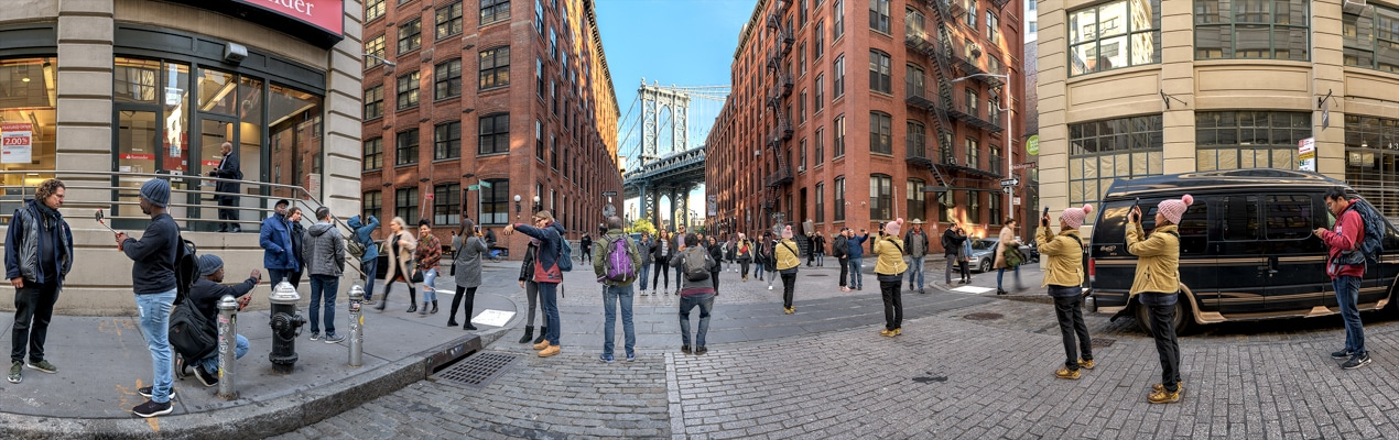 DUMBO Iconic View<br/>Brooklyn, NY; October 2018