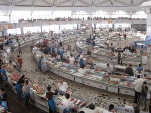 meat market from above